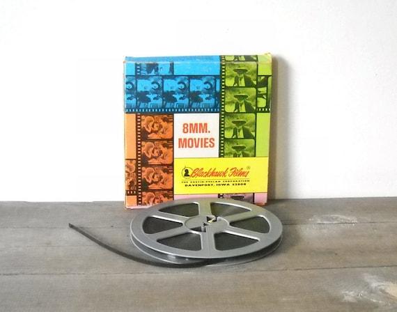 Halloween HAUNTED SPOOKS 8mm Film Blackhawk Films Harold Lloyd Vintage