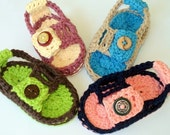 Instant Download - Crochet Pattern - Baby Heel Strap Sandals PDF 9