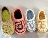 Instant Download - Crochet Pattern - Toddler Sunburst Loafers PDF 19