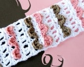 Free Crochet Pattern Headbands Ridged & Lacy PDF 24