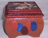 Puppy Jewelry Box \/was 30.00 on sale  12.00
