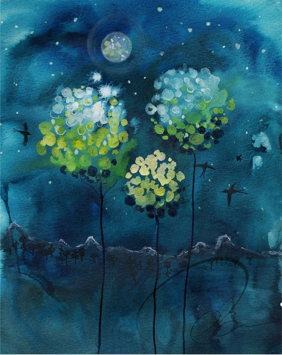 SALE - Buy 2 Get 1 Free (see details below) - Four Moons, Limited Edition Print