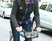 Recycled Bike Tube Handle Bar Bag