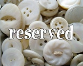 RESERVED for annamclain Button Bouquet in Button Filled Salt Shaker Shabby White Wedding Favor Decor