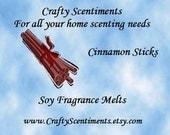 Soy Fragrance Melts Cinnamon Sticks