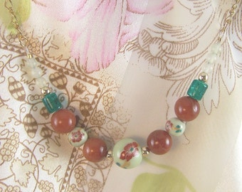 Beads and Flowers
