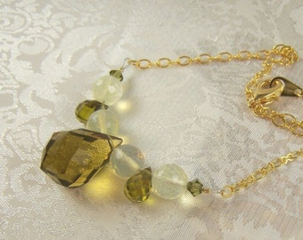 Olives and Pineapples Necklace