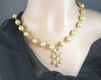Pearl Cascade Necklace