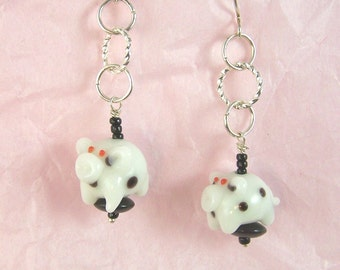 And This Little Piggy Earrings