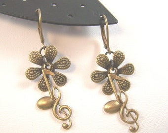 Music of the Flowers Earrings