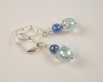 Bleu Drops Earrings