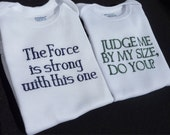 Set of Two Star Wars Onesies