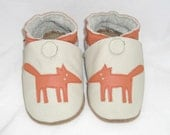Mini Toes soft sole leather BABY shoes fox pick your size