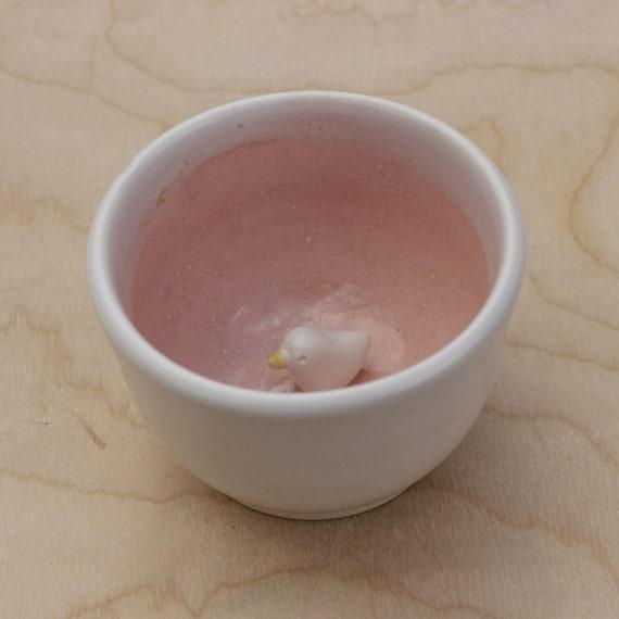 pink bird surprise bowl