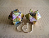 Origami Earrings Spring Edition