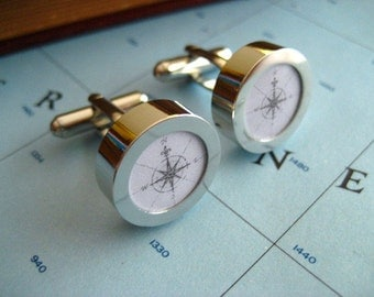 Map Cuff Links You Choose the location