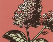 Spring Lilac Cotton Print