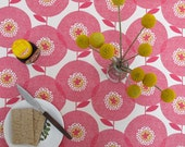 Flower field, in Rosy - Tablecloth