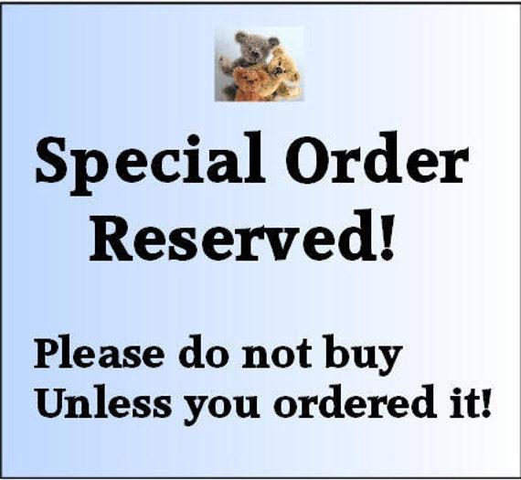 Reserved for molovesbears