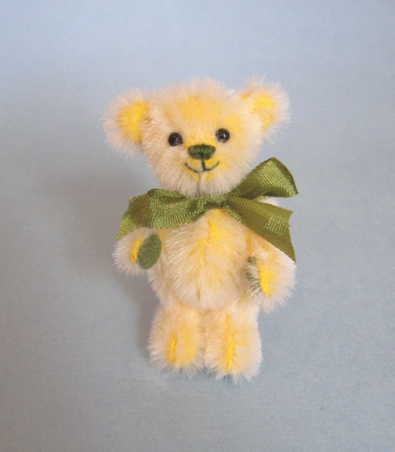 Miniature Artist Bear Miniature Teddy Bear