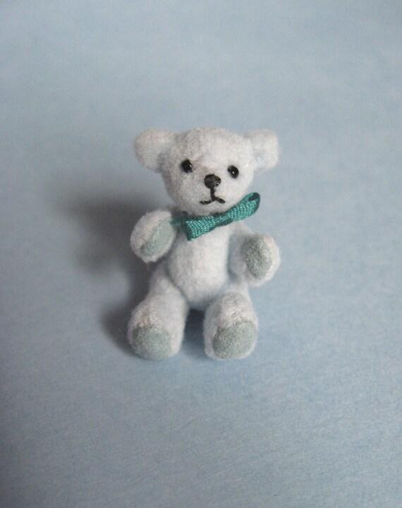 SALE Tiny Miniature Artist Bear teddy bear
