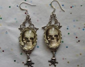 Death takes a Holiday Earrings