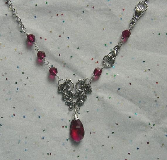 Crimson Fantasy Necklace