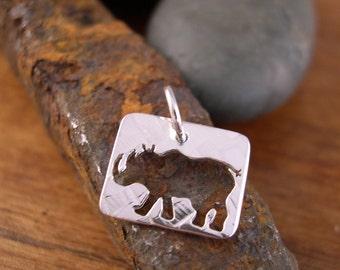 Rhino Charm