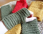 Fingerless gloves - nalbinding