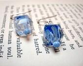 The Jody Earrings... bold blues