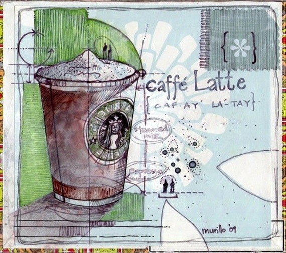 Caffe Latte - Print out