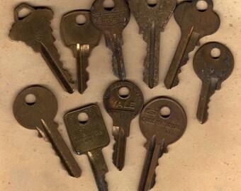Brass Key Assortment