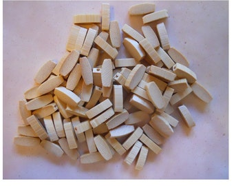 OnSale - 100 Light Wooden Beads