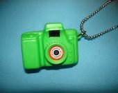 Kitschy Mini Toy Camera Necklace