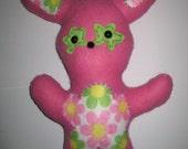 Petal the Hippy Flower Bunny