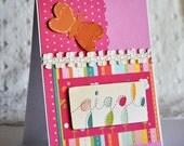 Giggle Handmade Greeting Card - LIQUIDATION SALE