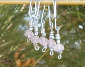 Clearance - Ballerina row \/ stitch markers (set of 5)