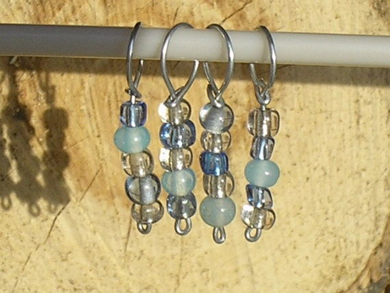 Clearance - Pleiades stitch markers (set of 4)