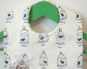 Take-home Goldfish - Minky Baby Bib