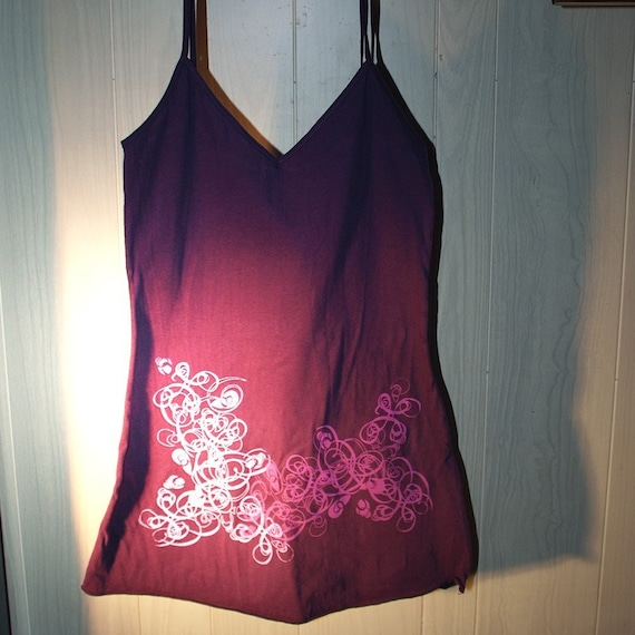 Long womens tank top - DISCONTINUED style - 50% off - sizes L only