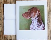 Max - German Shorthaired Pointer Greeting Card