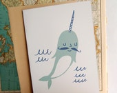 Narwhal Card Set