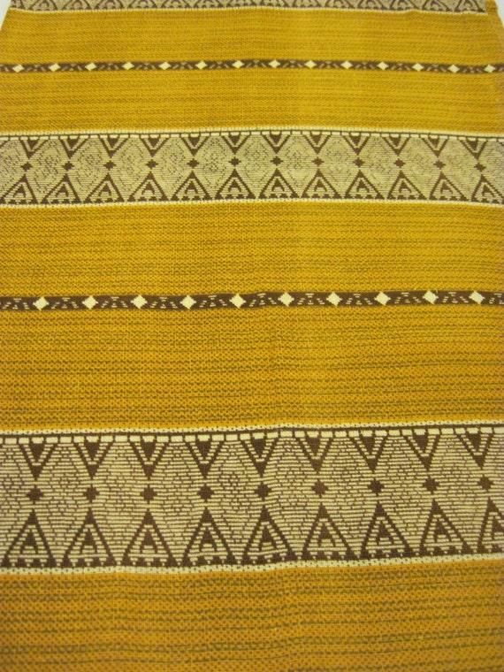 Reclaimed South Western Print Home Spun Fabric