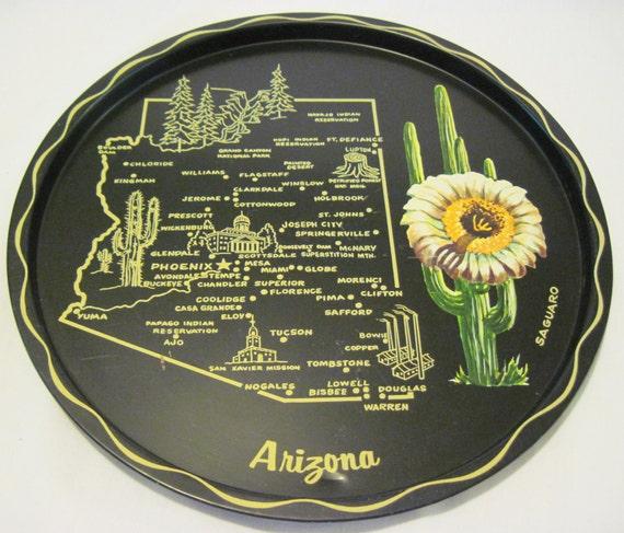 Collectible Souvenir Arizona Tray