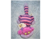 Vintage Cheshire Cat Walt Disney Bean Bag Plush Collectible Doll