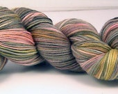 BAMBU Naturally Dyed 80 percent  SW Merino, 20% Bamboo fingering weight sock yarn
