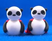 Panda Superheroes for Jenna