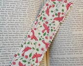 Timeless Spring Fabric Bookmark