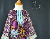 Tuxedo Mini DRESS - Patricia Bravo - Paradise - Pick the size Newborn up to 14 Years - by Boutique Mia
