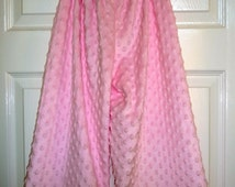 CHILDREN -Samurai Pants - Soft Pink Minky - 2 Years of Fashion - Pick the size Newborn to 8 Years by Boutique Mia